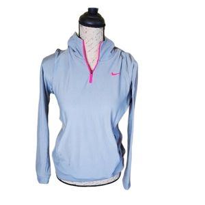 Nike Golf hoodie dri-fit gray pink fitness Medium